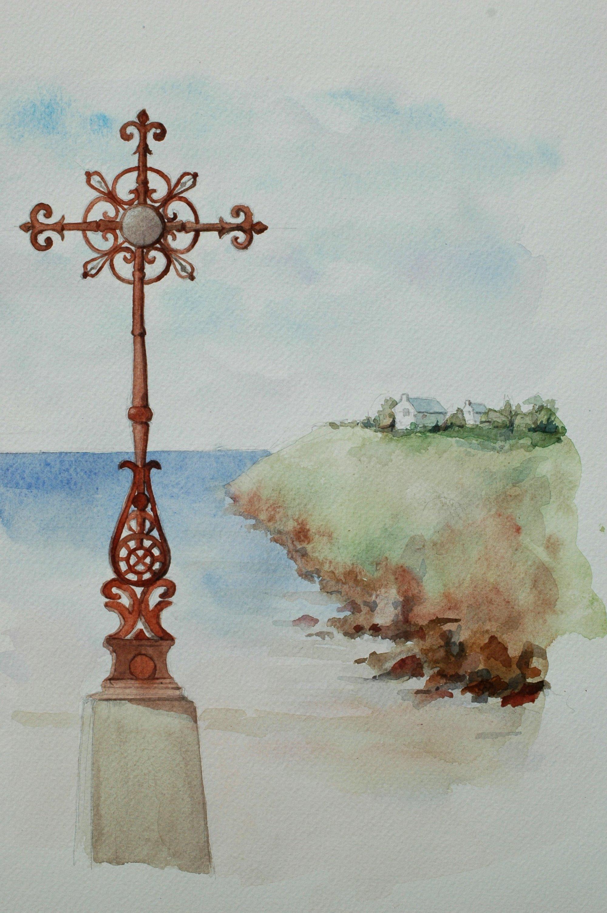 Croix de Asvoie égarée en Bretagne